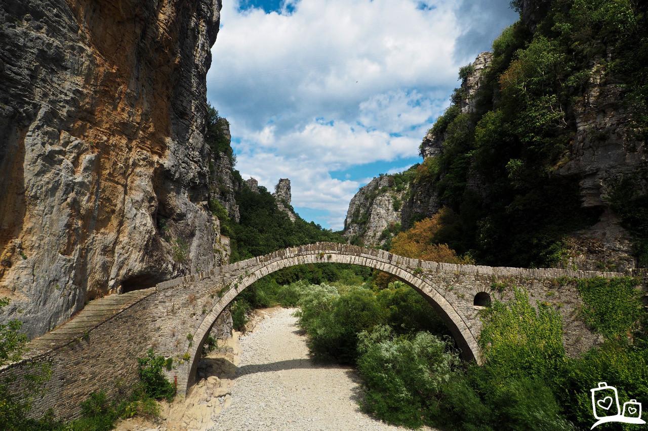 Boogbrug-Zagoria-Griekenland