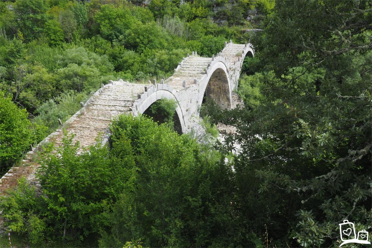 Boogbruggen-Zagoria-Griekenland
