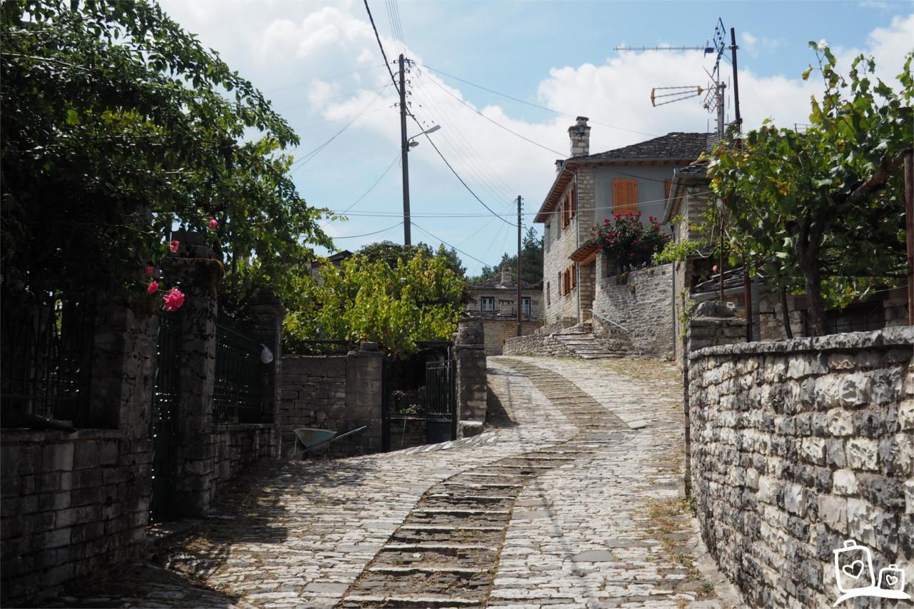 Papingo-Zagoria-Griekenland