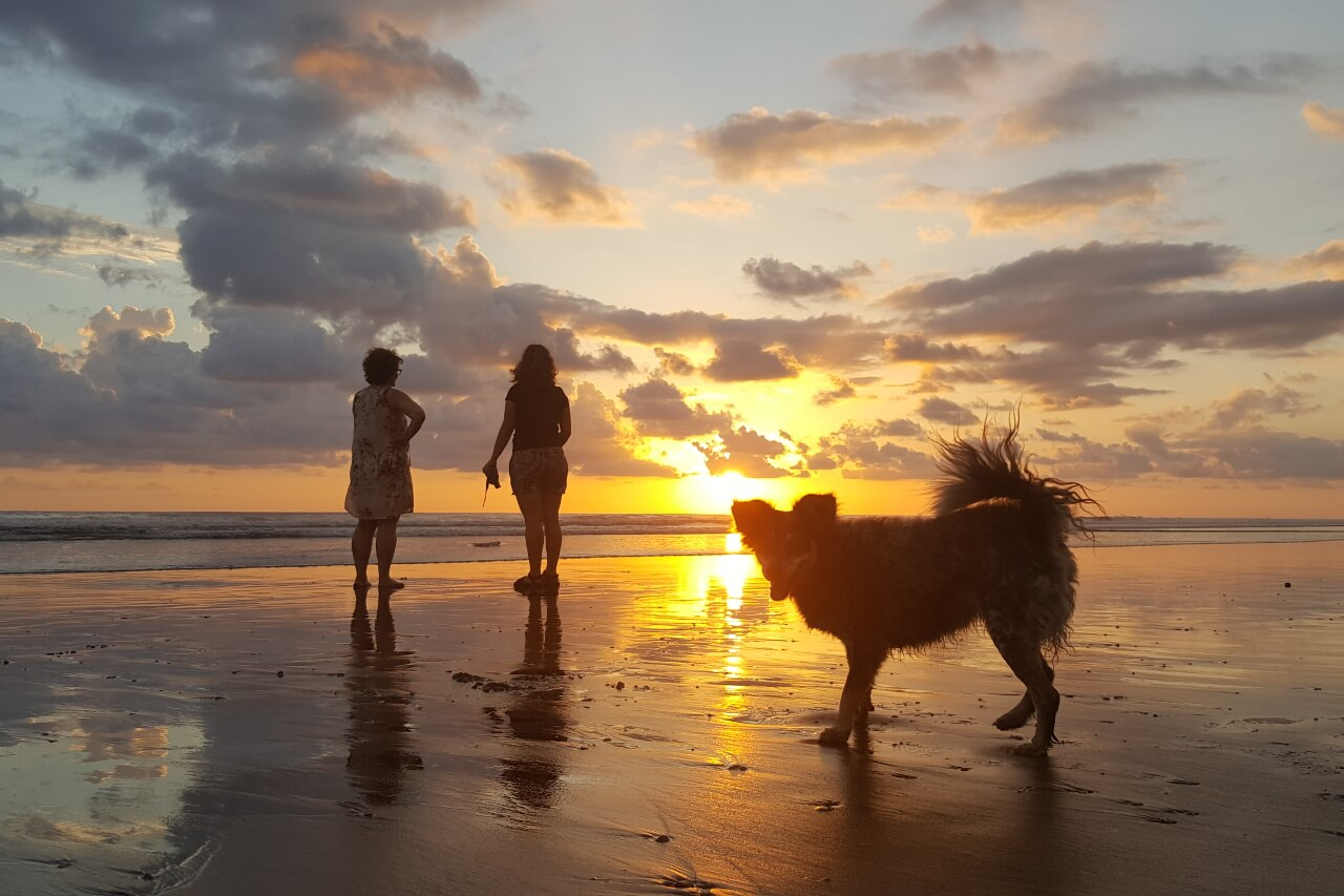 Anouk Veltmaat - Costa Rica - Zonsondergang Playa Linda