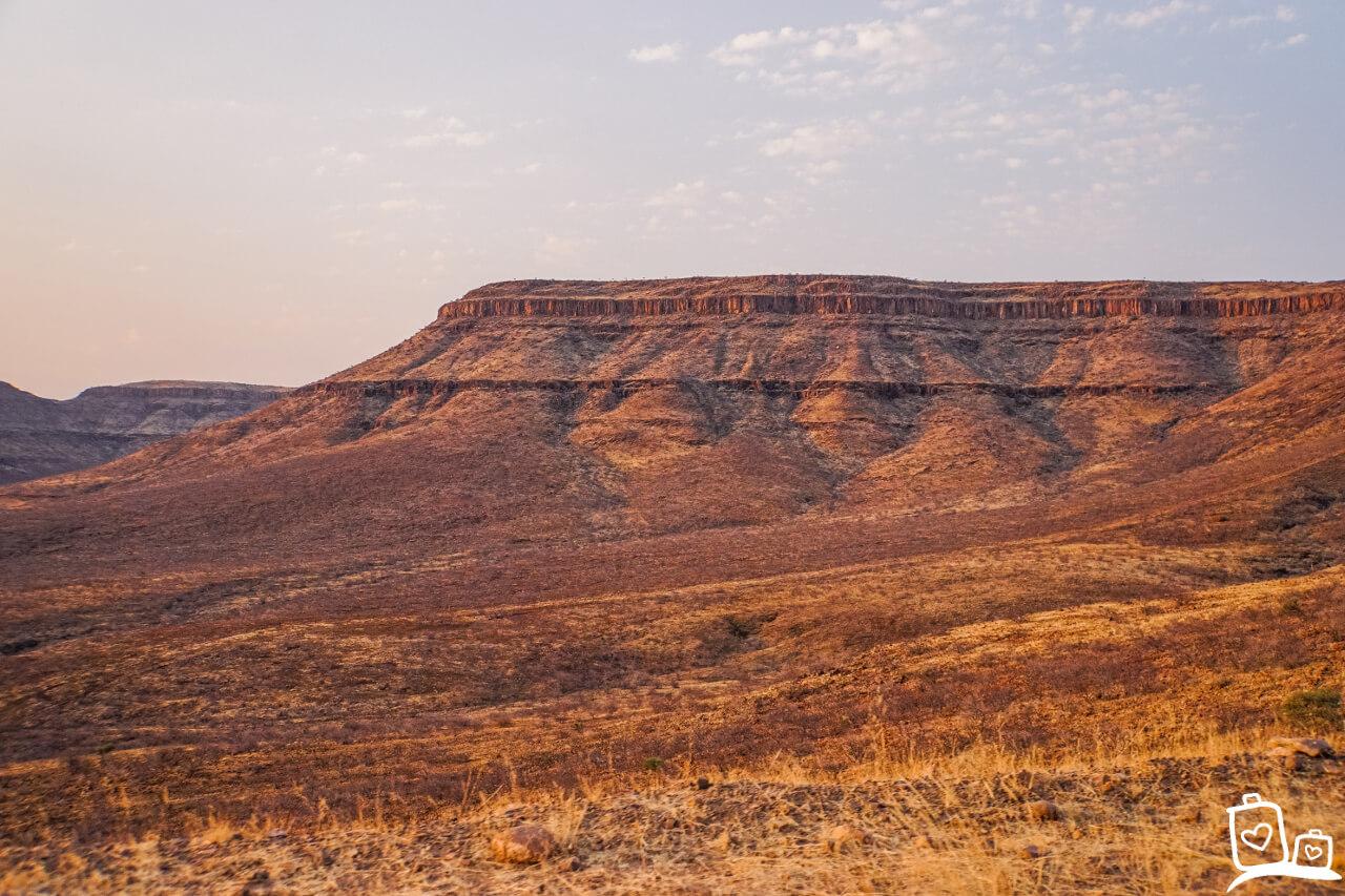 Uitzicht Damaraland