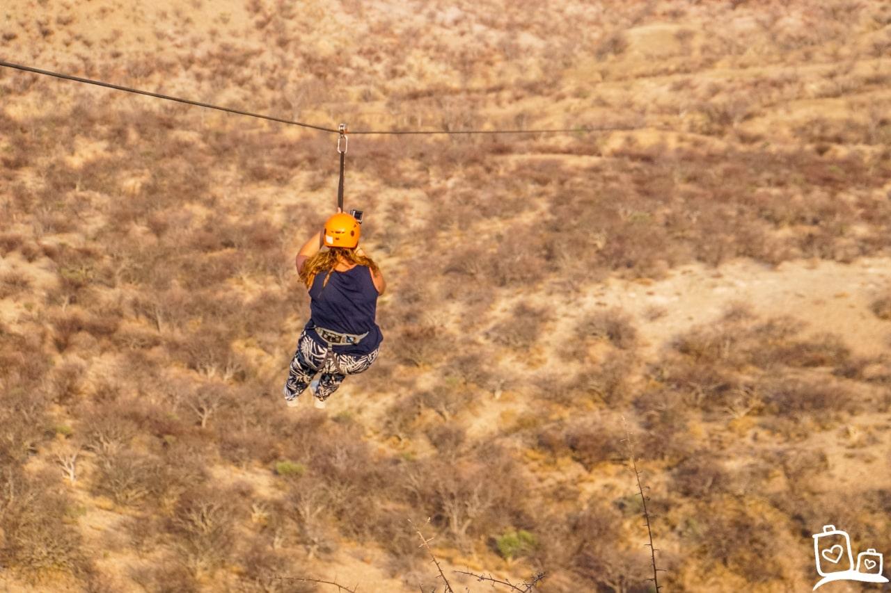 Namibie Damaraland Ziplining