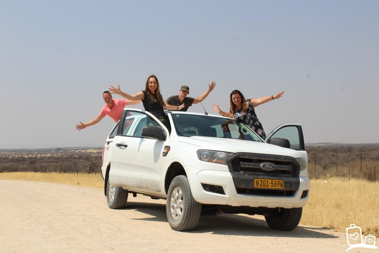 Namibie Onderweg Auto