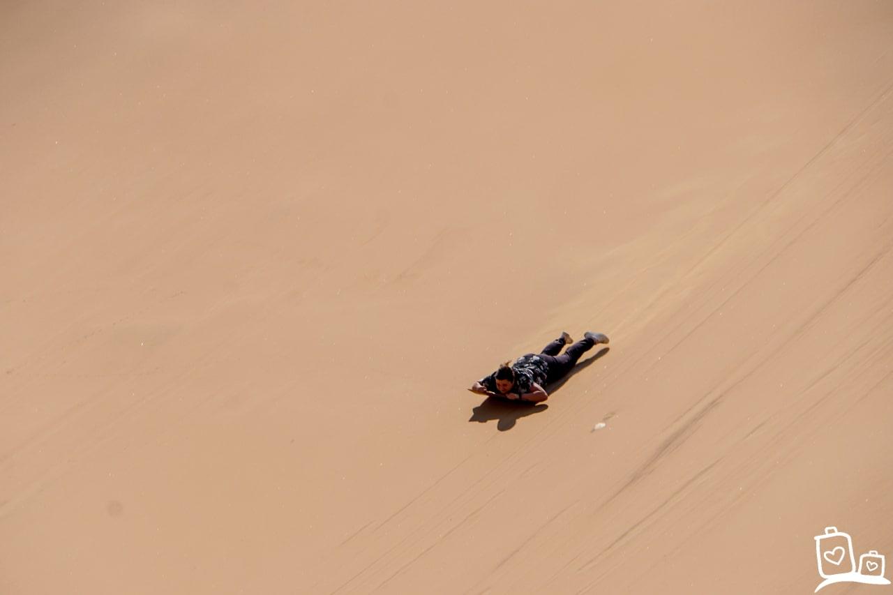Namibie Swakopmund Sandboarden