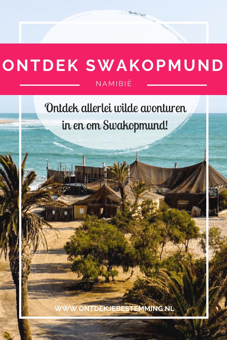 In de omgeving van de kustplaats Swakopmund in Namibië kun je veel toffe dingen doen, zoals kajakken tussen de zeehonden en sandboarden. Lees hier meer!
