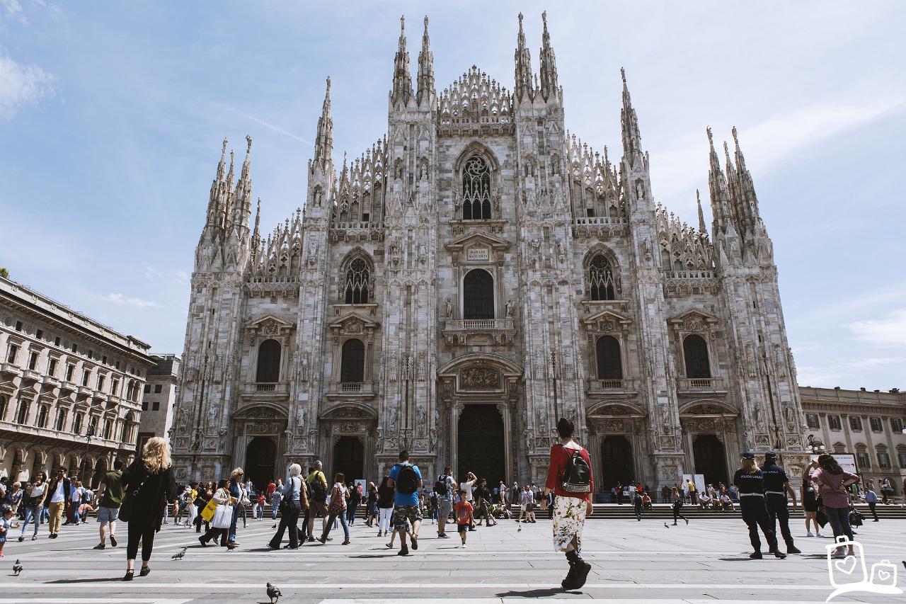 Italie-Milaan-dom-kathedraal