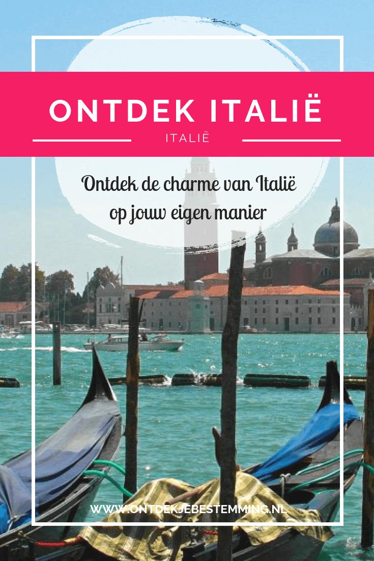 Ontdek Italië... Italië is voor iedereen een toffe bestemming. Voor de rondreiziger, de kampeerder, de luxe hotelgast. Jong en oud, relaxt en avontuurlijk. Lees hier meer!