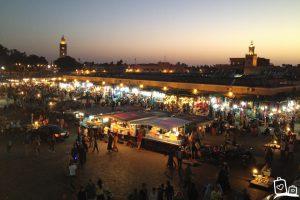 Marokko-Marrakech-Djeema-el-fna