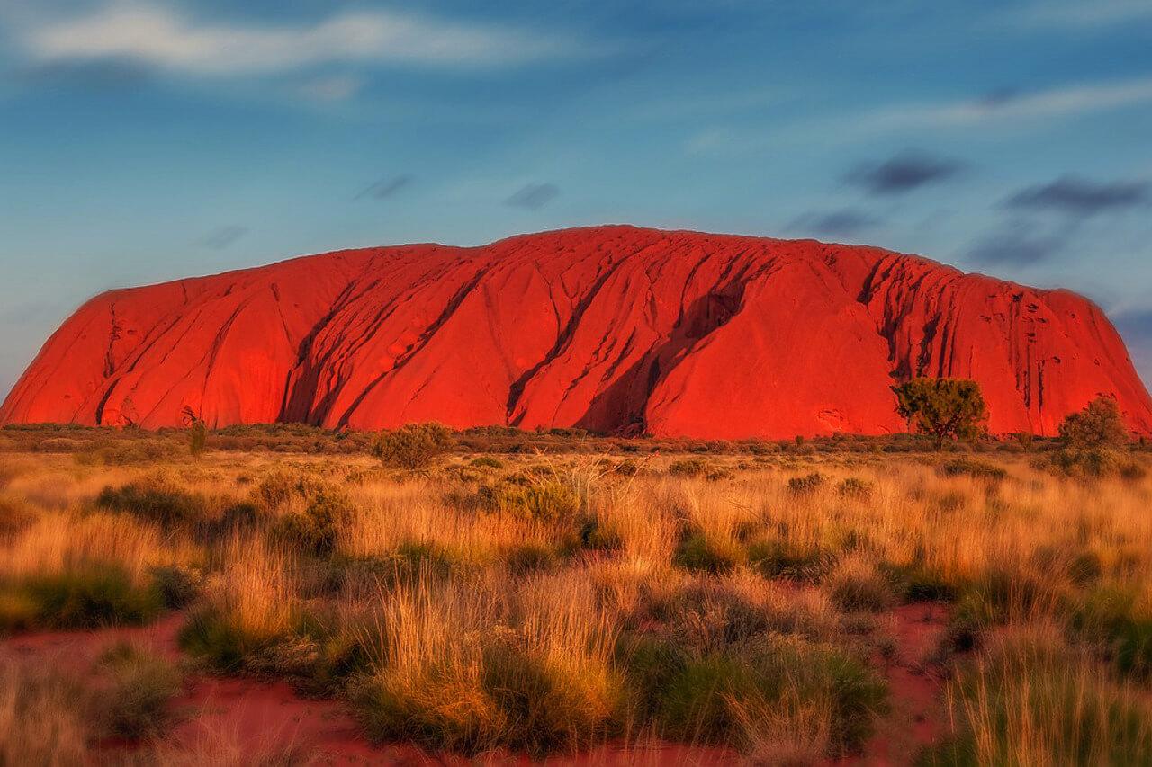 Australië Uluru Rock