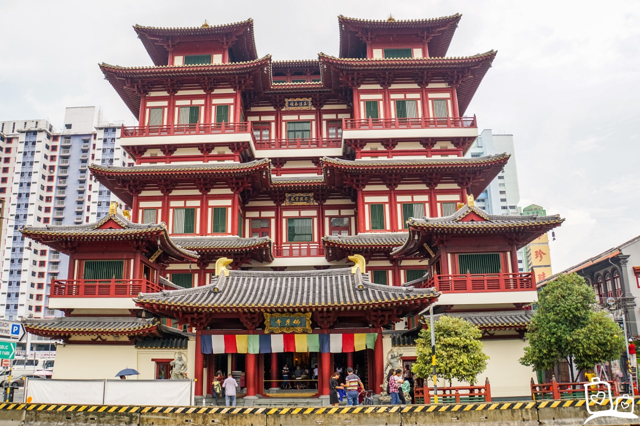 Singapore Chinatown Buddah Tooth Relic Tempel