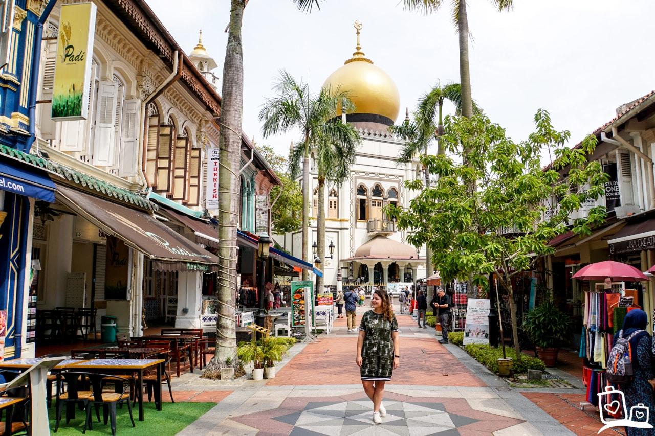 Singapore Kampong Glam Masjid Sultan Moskee