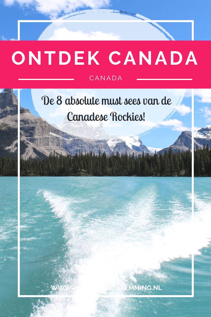De 8 absolute must sees van de Canadese Rockies ontdek je hier. Je vindt hier tips en ervaringen over de Canadese Rocky Mountains. Lees meer!
