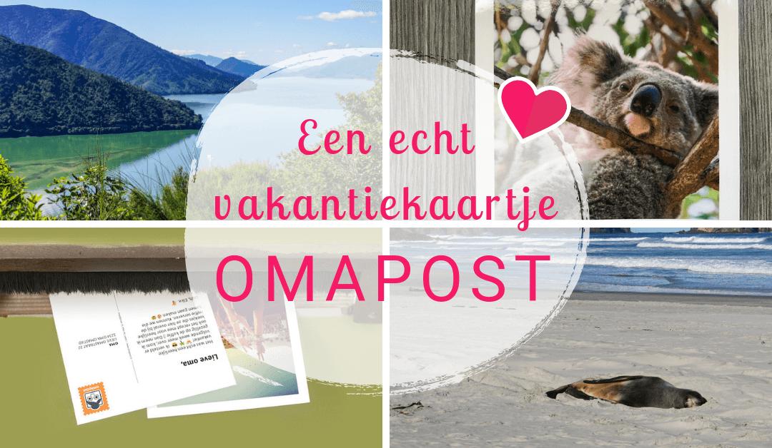 Omapost – Stuur een persoonlijk vakantiekaartje via de post!