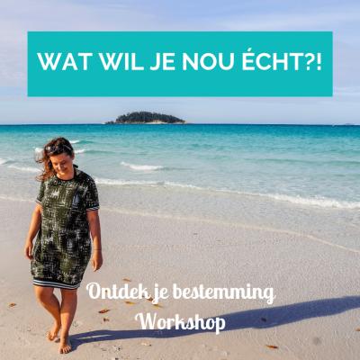 Workshop Ontdek je bestemming - Wat wil je nou echt