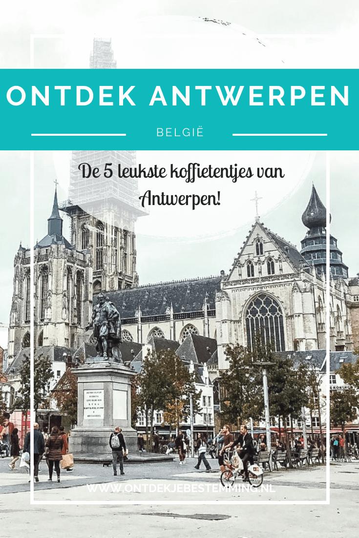 Wat te doen in Antwerpen? In dit artikel vind je de 5 leukste koffietentjes in het centrum van Antwerpen. Lees hier meer!