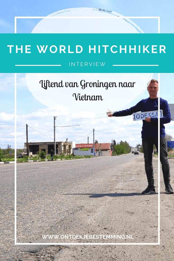 Rutger reist momenteel van Nederland naar Vietnam, maar dan op een hele bijzondere manier, namelijk volledig liftend. Lees hier zijn verhaal!