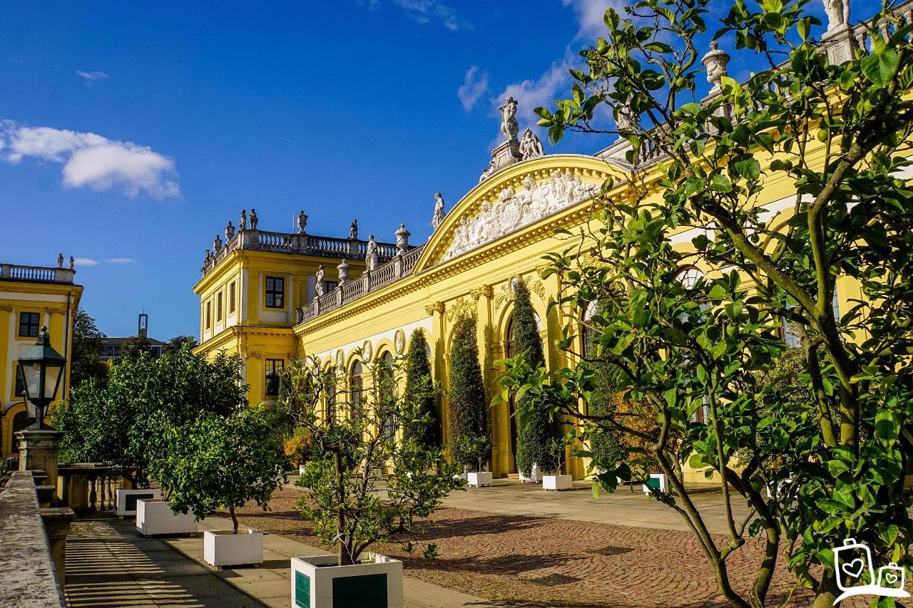 Kassel Duitsland Orangerie