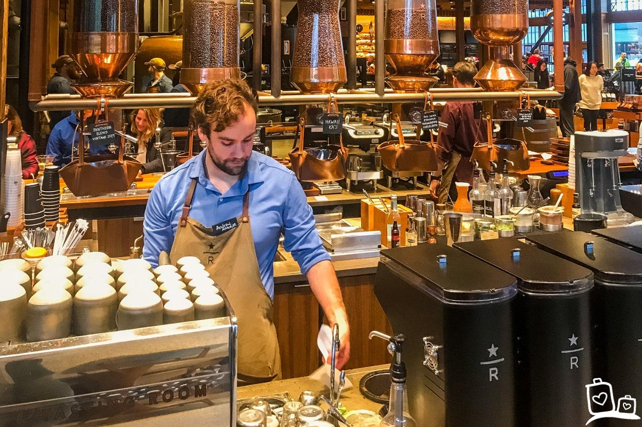 Seattle Starbucks Reserve