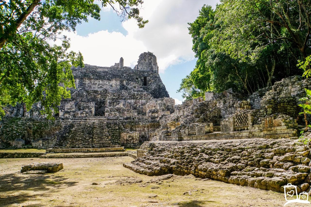 Mexico Becan Tempel