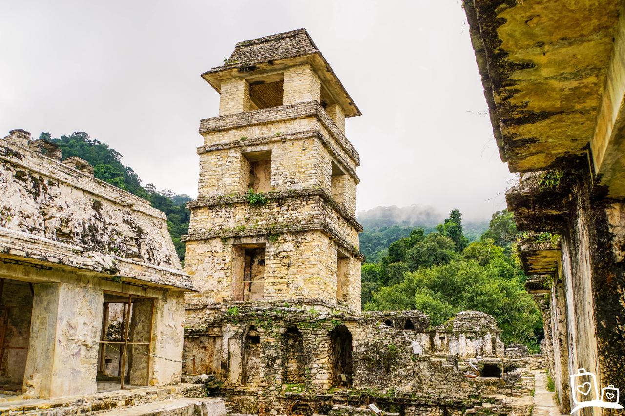Mexico Palenque Maya