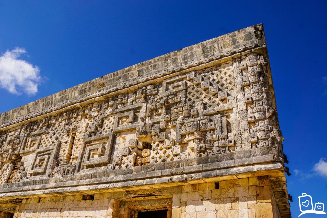 Mexico Uxmal Tempel