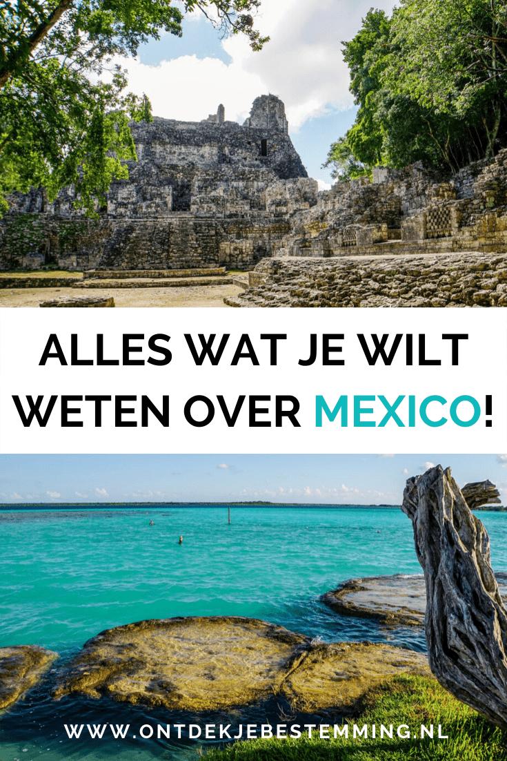 Op zoek naar een leuke reisroute voor Mexico? Check dit artikel met alle tips voor je reis, zoals de beste reisperiode, visum, auto huren en de veiligheid!