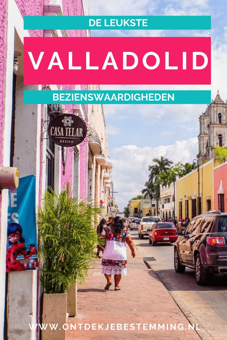 Bezienswaardigheden Valladolid Mexico