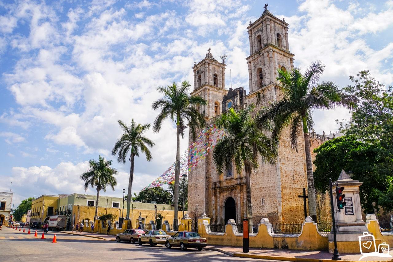 Mexico Valladolid Iglesia de San Servacio
