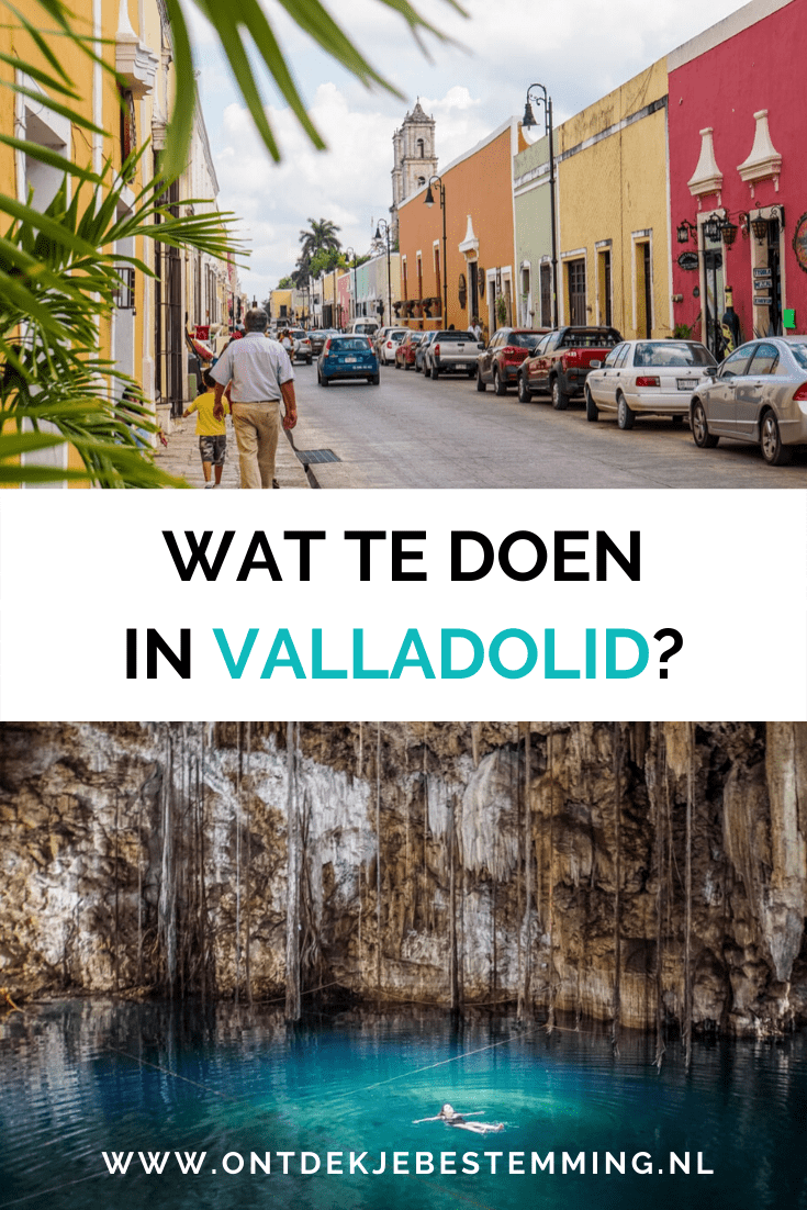 Mexico Valladolid bezienwaardigheden