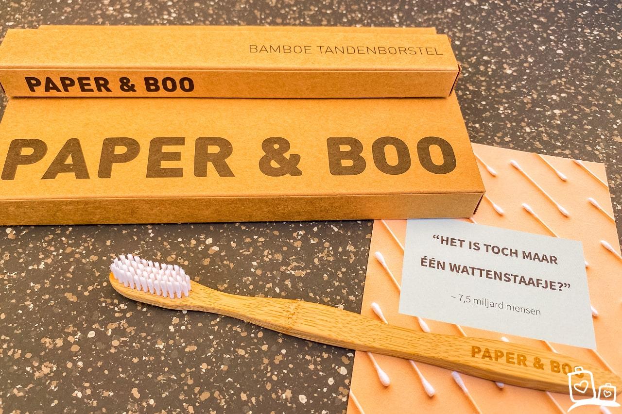 Paper en Boo Tandenborstel