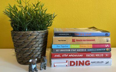 Mijn 6 favoriete boeken over persoonlijke ontwikkeling
