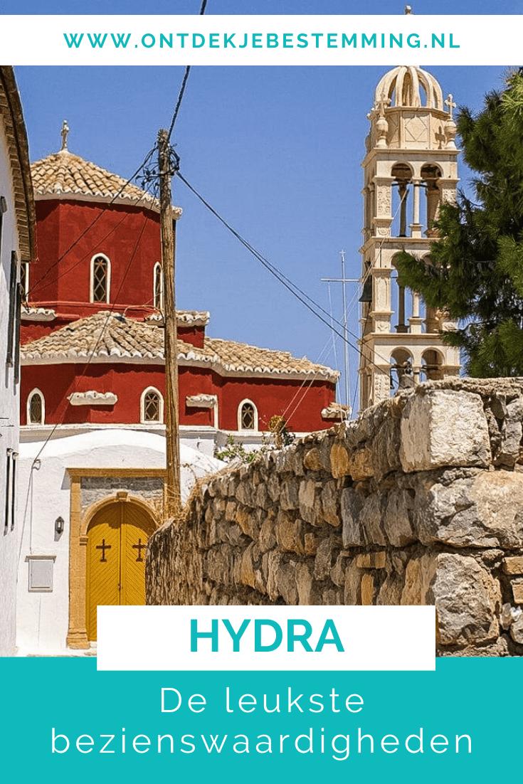 Hydra eiland Griekenland