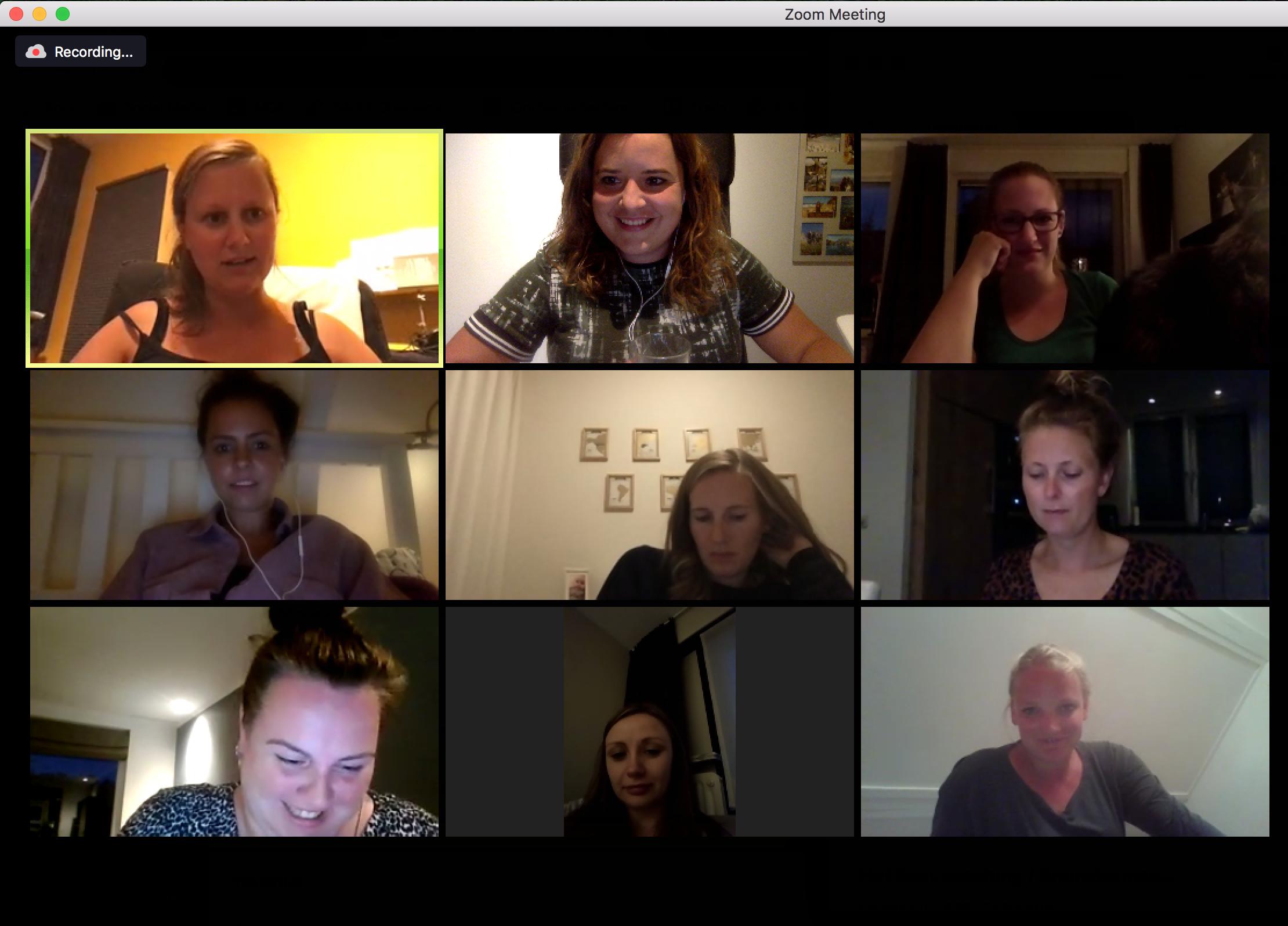 Online sessie De Focus Club