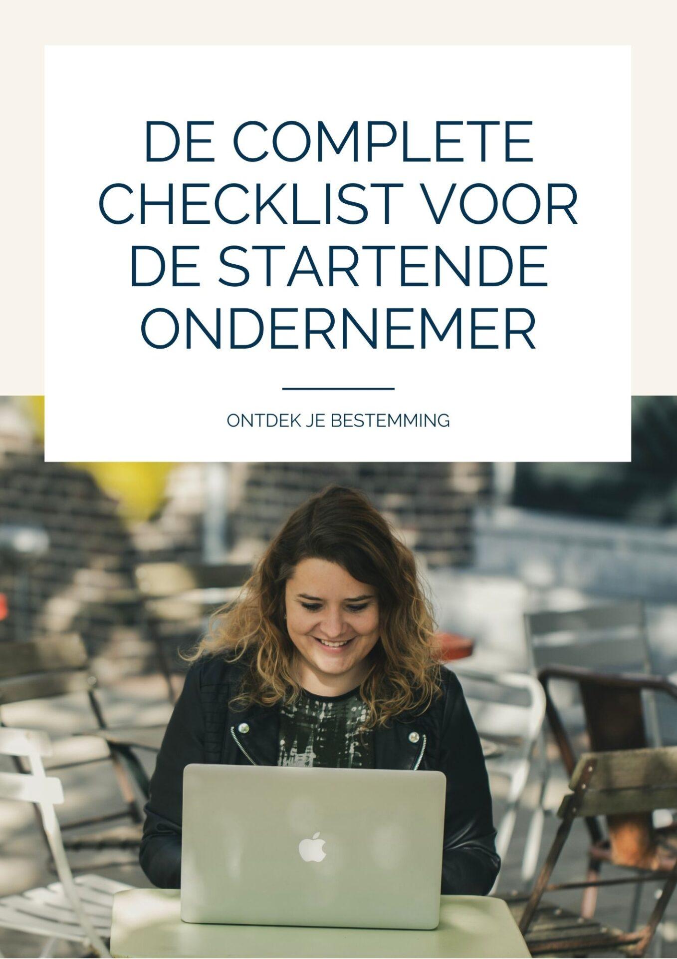 Checklist voor startende ondernemers