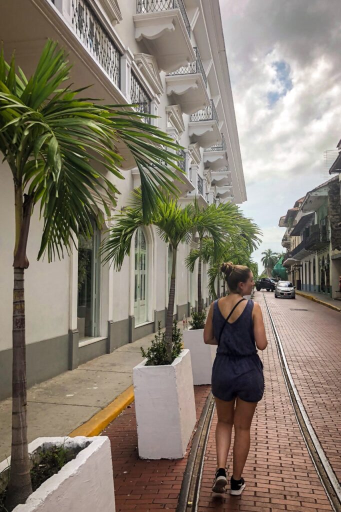 Panama Reisroute